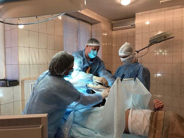 операция в Днепре
